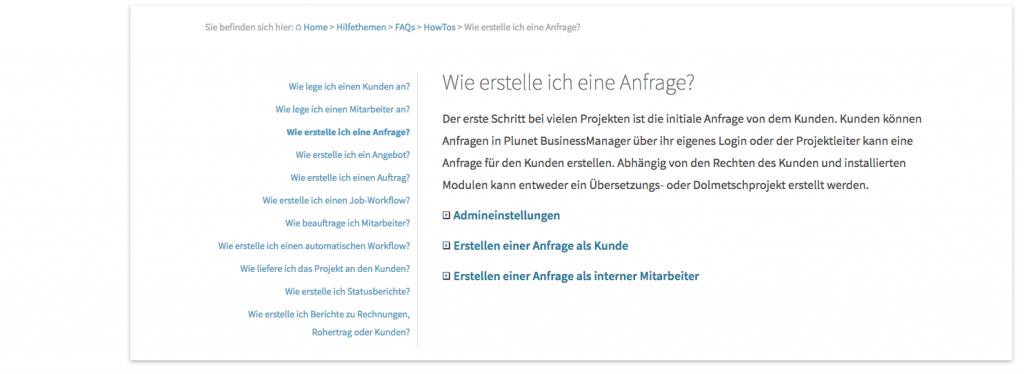 3_Brotkrumen-Navigation_Plunet-Translation-Management-systems_plunet-hilfe_DE