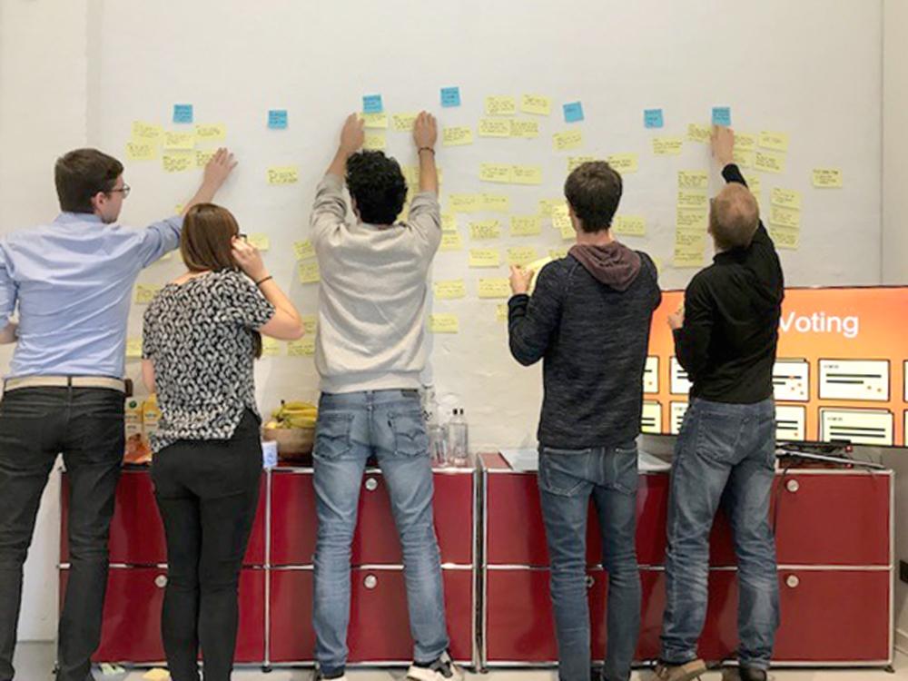 Designsprint für das Plunet-Release 8.0, Gruppenarbeit