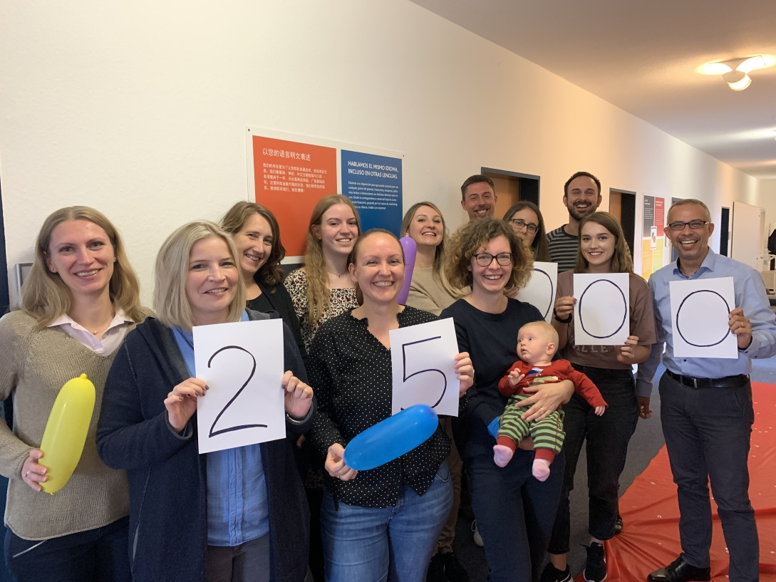 Sprachenfabrik celebrates 25,000 orders with Plunet